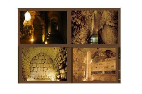 סיור במנהרות הכותל
