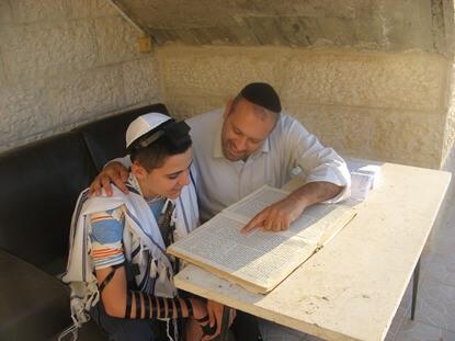 אייל ימין – הכנה לבר מצווה – בירושלים והסביבה