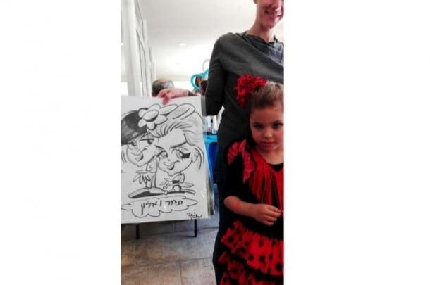 פביאן שפינר – מופע ציור לבר מצווה / בת מצווה