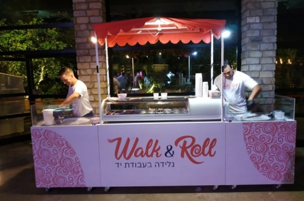 walk&roll גלידה תאילנדית